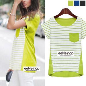 Cordelia StripeTシャツ[レディース][おしゃれコート・ワンピース・スカート・パンツ・Tシャツ・ニット・セットアップ・バッグ]