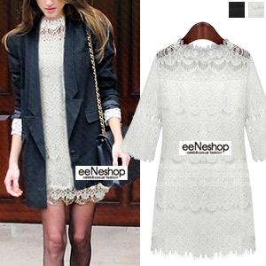 Elegance Laceスリムワンピース[レディース][おしゃれコート・ワンピース・スカート・パンツ・Tシャツ・ニット・セットアップ・バッグ]
