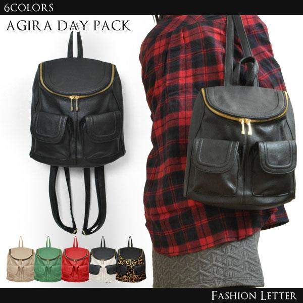 アギラ レザー リュックサック [RB]ショルダーバッグ かばん デイパック バッグ かわいい フォーマル レディースバッグ カバン