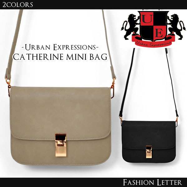 【Urban Expressions(アーバンエクスプレッション)】CATHERINE[9937]キャサリン レディースバッグショルダーバッグ ミニバッグ クラッチバッグ ブランドバッグ 大人カジュアル 春新作バッグ