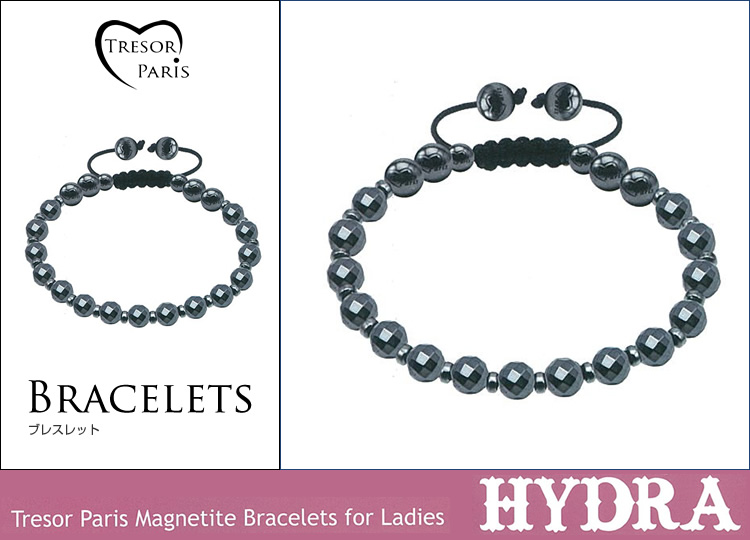 ブレスレット通販〜Felt Magliettaブランドの【Tresor Paris Magnetite Bracelets for Ladies Hydra トレゾア ハイドラ】ブレスレット