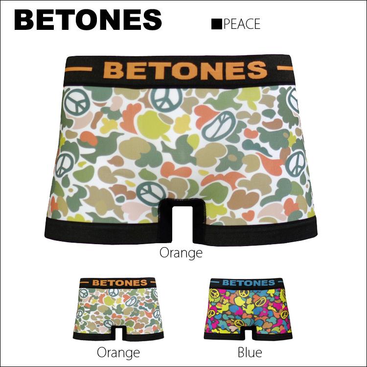 ショーツ通販〜GAL'S MARKETブランドの【BETONES】PEACE(ピース)【メンズインナー】【ボクサーパンツ】【メンズ下着】ビトーンズ【レディースボ
