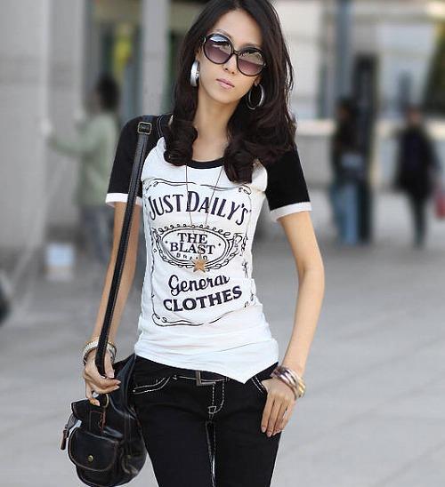 シャツ通販〜hills styleブランドのTシャツ レディース 半袖 ロゴ入り Tシャツ チュニック カットソー レディース 【小さいサイズ 大きいサイズ対応】S M Lサイズ