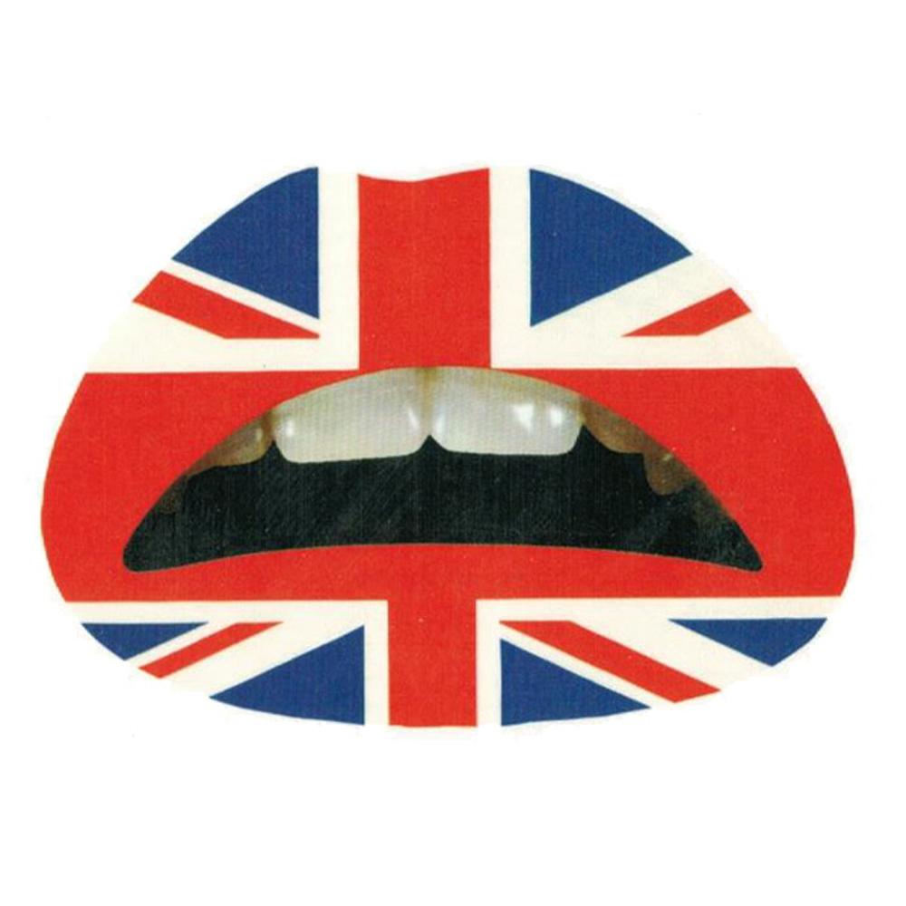リップ タトゥーシール UK フラッグ 【ホワイトデー】