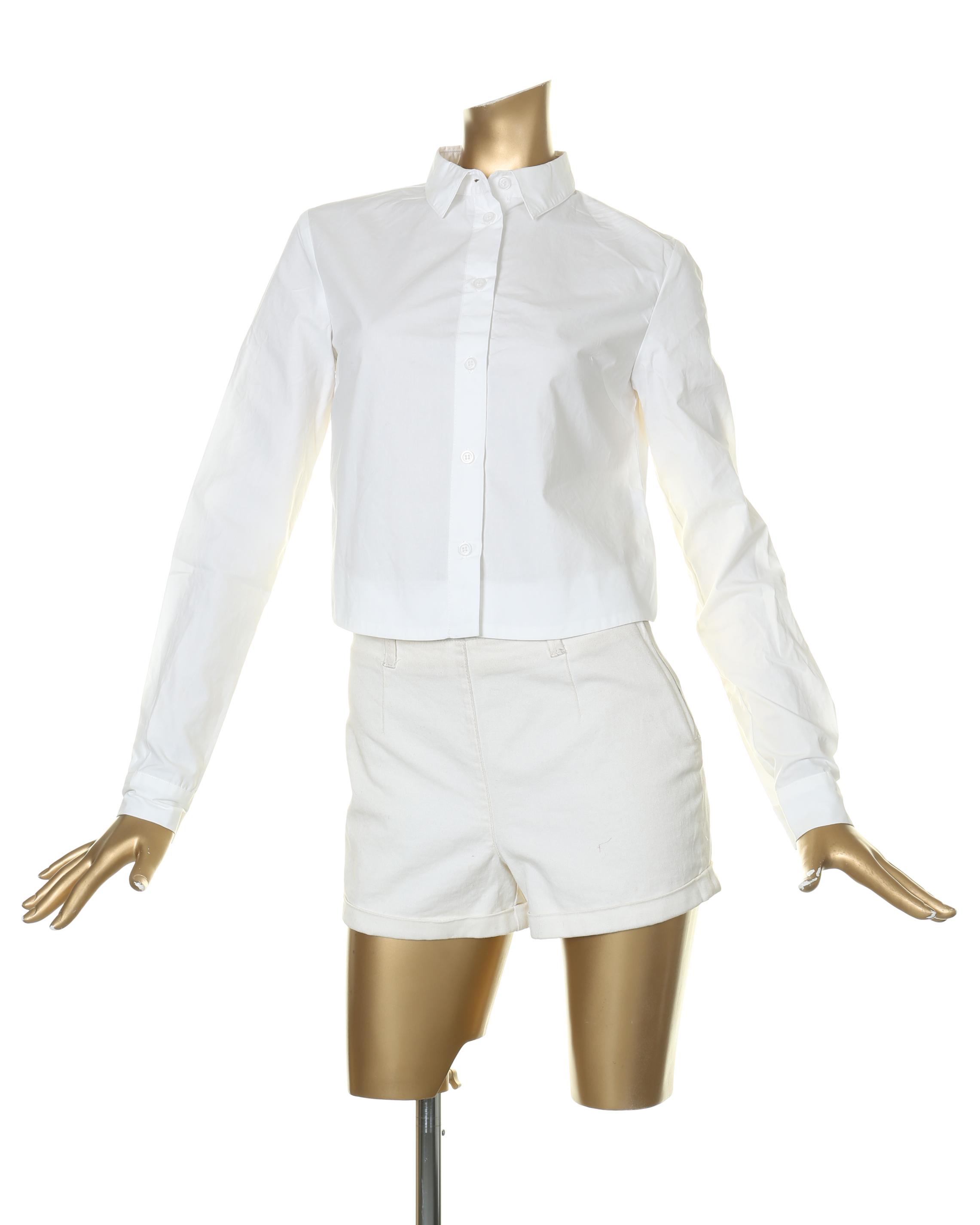 シャツ通販〜EGOISTブランドのショート丈カラーシャツ