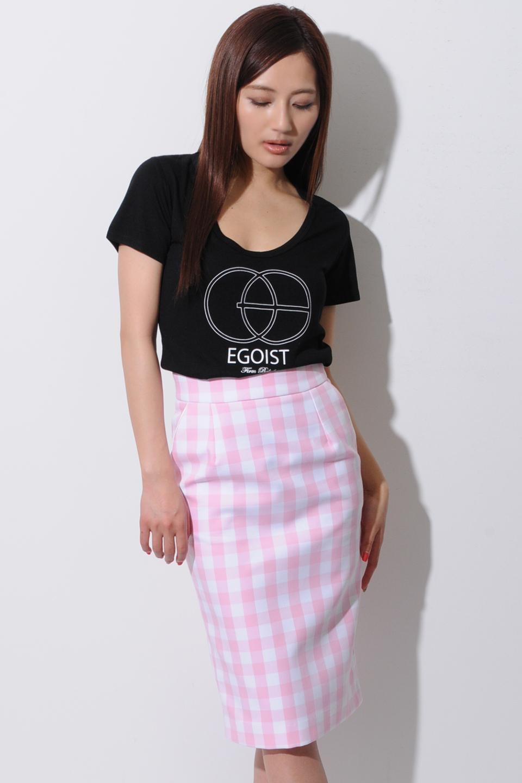EGラインロゴTシャツ