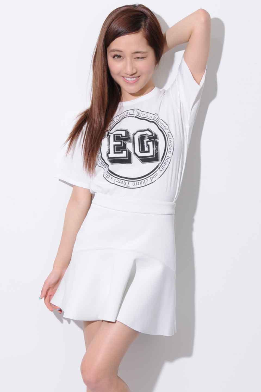 circle in EG Tシャツ
