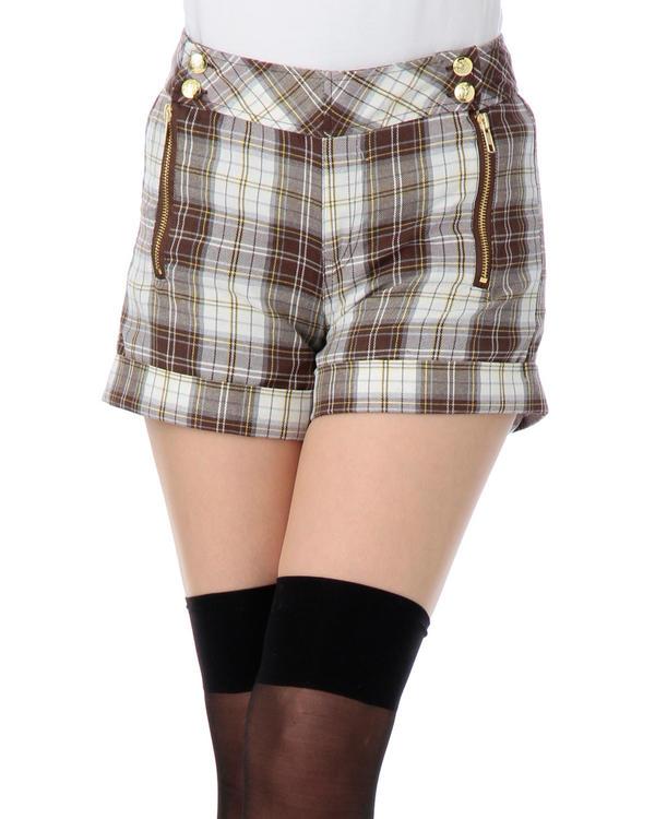 パンツ通販〜LIZ LISAブランドの【LIZ LISA doll】チェックパンツ