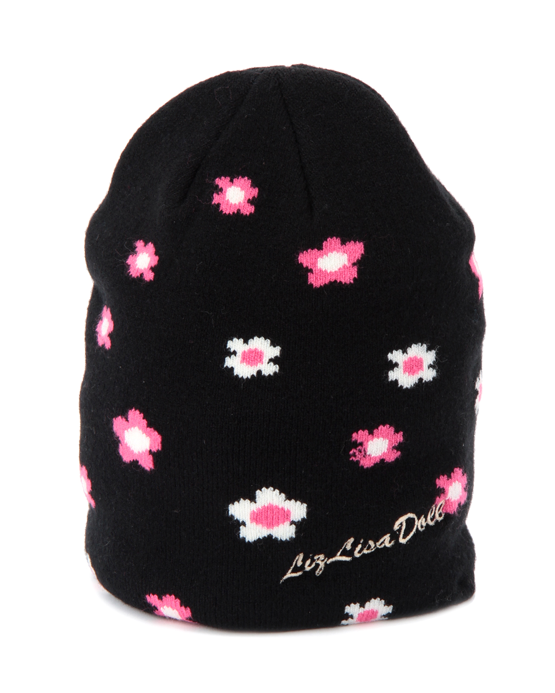 【LIZ LISA doll】フラワーニット帽