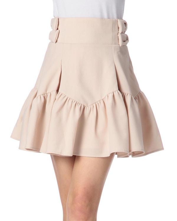 スカート通販〜LIZ LISAブランドの【LIZ LISA】サイドリボンハイウエストスカート