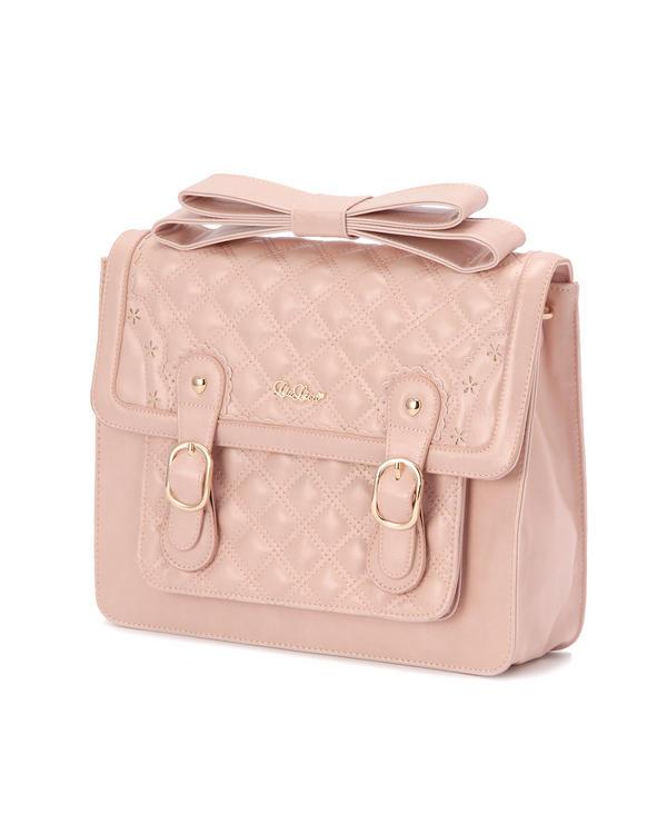 【LIZ LISA】ダブルキルティング3WAYバッグ