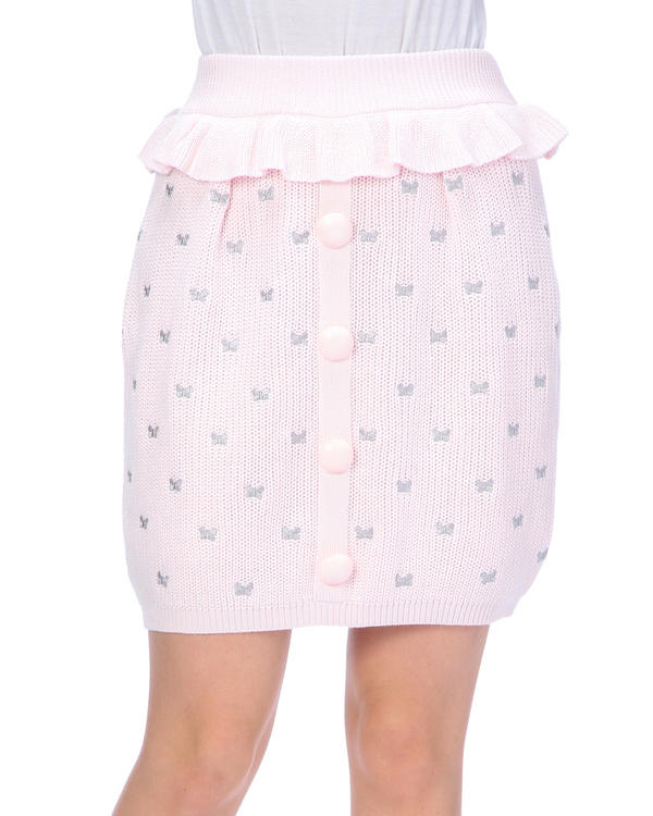 スカート通販〜LIZ LISAブランドの【LIZ LISA】蝶々刺繍スカート