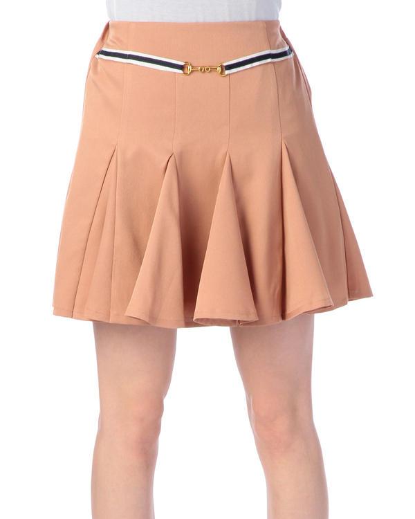 スカート通販〜LIZ LISAブランドの【Tralala】飾りベルトつきフレアスカート