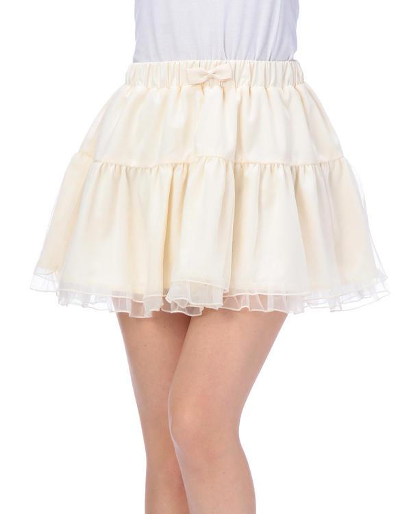 スカート通販〜LIZ LISAブランドの【Tralala】トリコットオーガンジースカート
