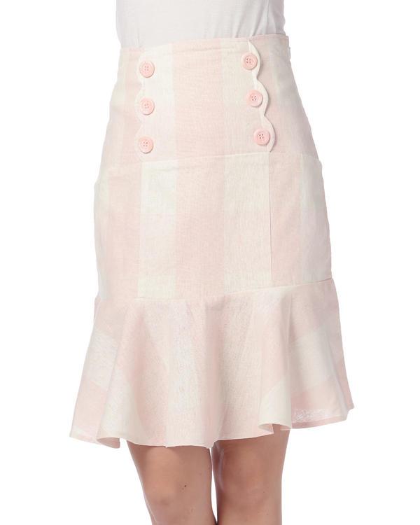 【LIZ LISA】ギンガムチューリップスカート