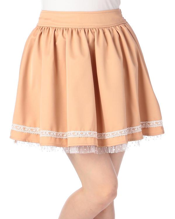スカート通販〜LIZ LISAブランドの【Penderie】後ろバッスルスカート