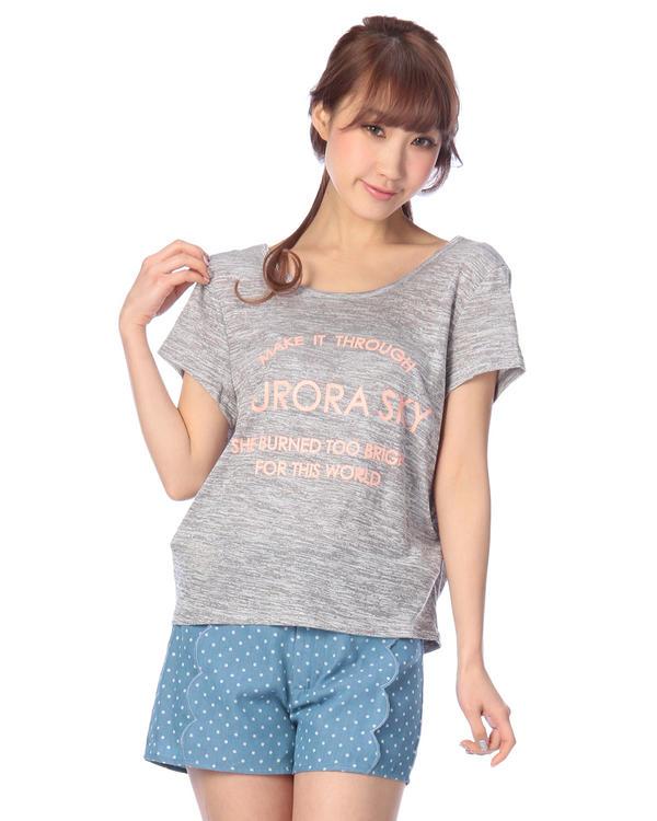 シャツ通販〜LIZ LISAブランドの【Tralala】背中リボントップス