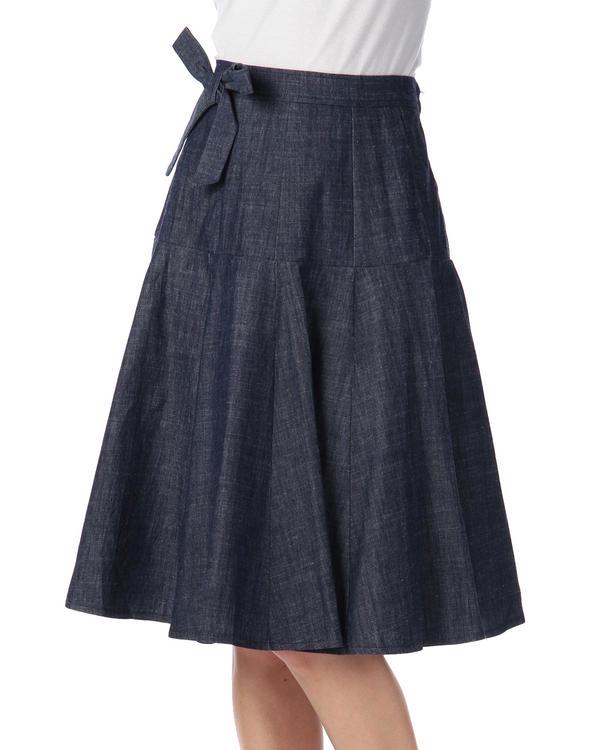 スカート通販〜LIZ LISAブランドの【LIZ LISA】ひざ丈フレアスカート