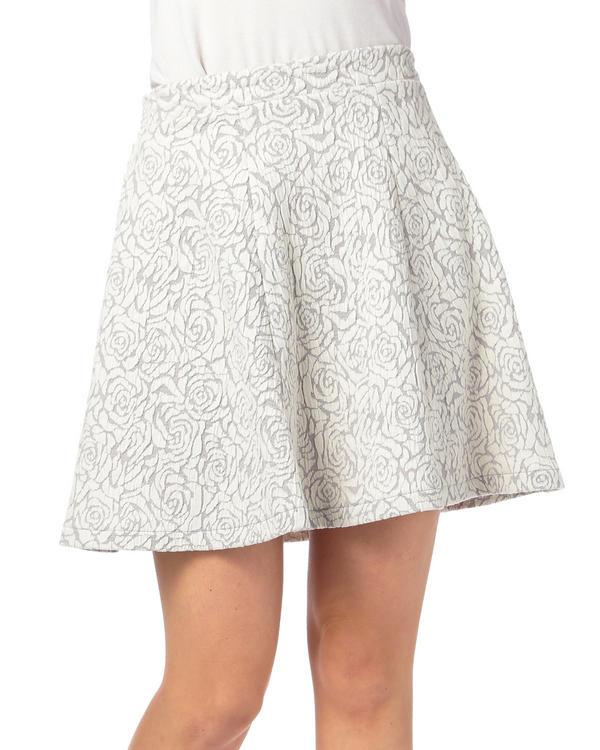 スカート通販〜LIZ LISAブランドの【Tralala】花柄フクレジャガードフレアスカート