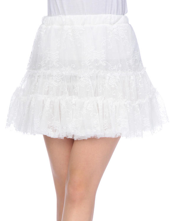 スカート通販〜LIZ LISAブランドの【Tralala】レースティアードスカート
