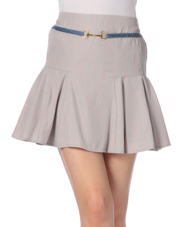 スカート通販〜LIZ LISAブランドの【Penderie】ストライプハイウエストスカート