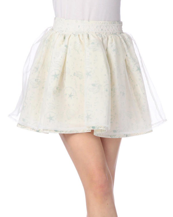 スカート通販〜LIZ LISAブランドの【Penderie】マーメイドプリントボリュームスカート