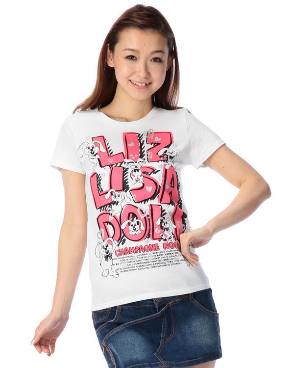 シャツ通販〜LIZ LISAブランドの【LIZ LISA doll】リッピィ×リッピィTシャツ