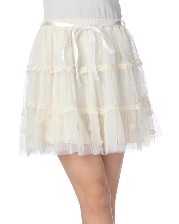 スカート通販〜LIZ LISAブランドの【TRALALA】チュールボリュームスカート