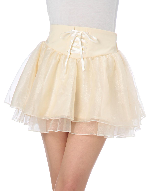 スカート通販〜LIZ LISAブランドの【TRALALA】トリコットリボンSK