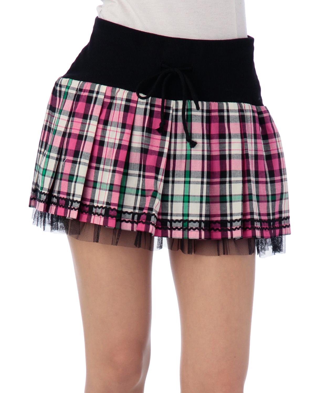 スカート通販〜LIZ LISAブランドの【LIZ LISA doll】チェックSK