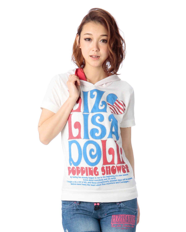 シャツ通販〜LIZ LISAブランドの【LIZ LISA doll】ワールドロゴPO