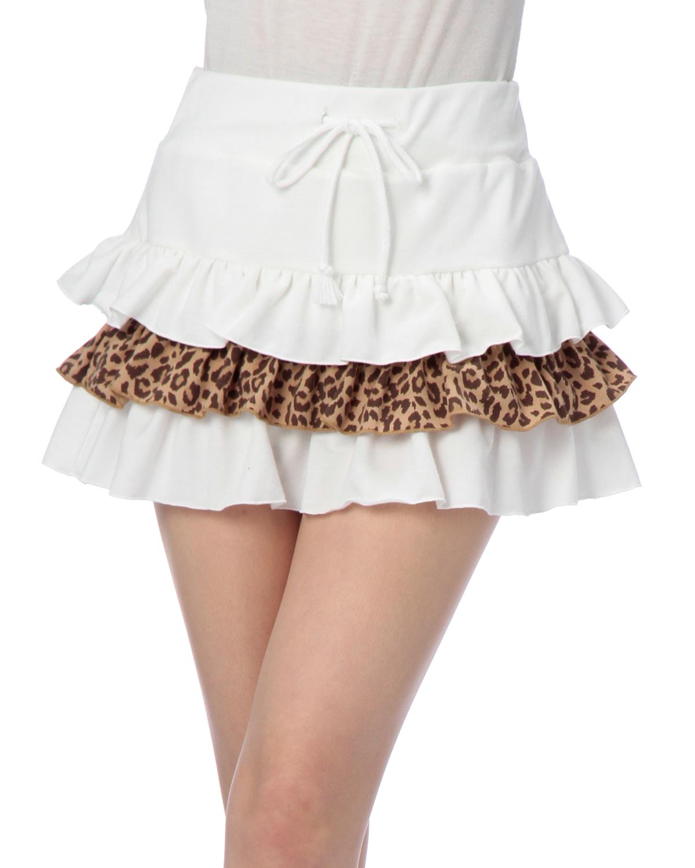 スカート通販〜LIZ LISAブランドの【LIZ LISA doll】ヒョウ柄SK