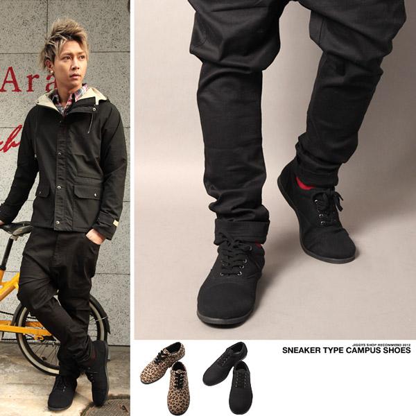 系 お兄系シューズ 靴 お兄系ファッション お兄ローカット メンズファッション ヒョウ柄 豹柄 レオパード たけぞー 黒 sneakers Mens[品番:JG000001671]|JIGGYS