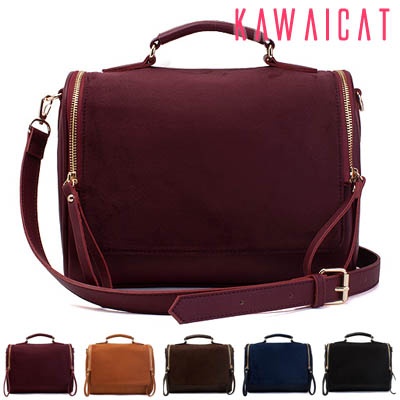 ハンドバッグ通販〜KawaiCatブランドの【ba10573】 丸みのあるシルエットで柔らかい印象のアイテム♪トート、ショルダー可能な実用性の高いシンプルバッグ