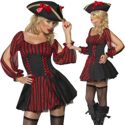 【ハロウィン】パイレーツ/海賊/コスチューム【コスプレ/ハロウィン衣装/コスチューム/仮装/衣装/パーティー/セクシーコスチューム/Halloween】