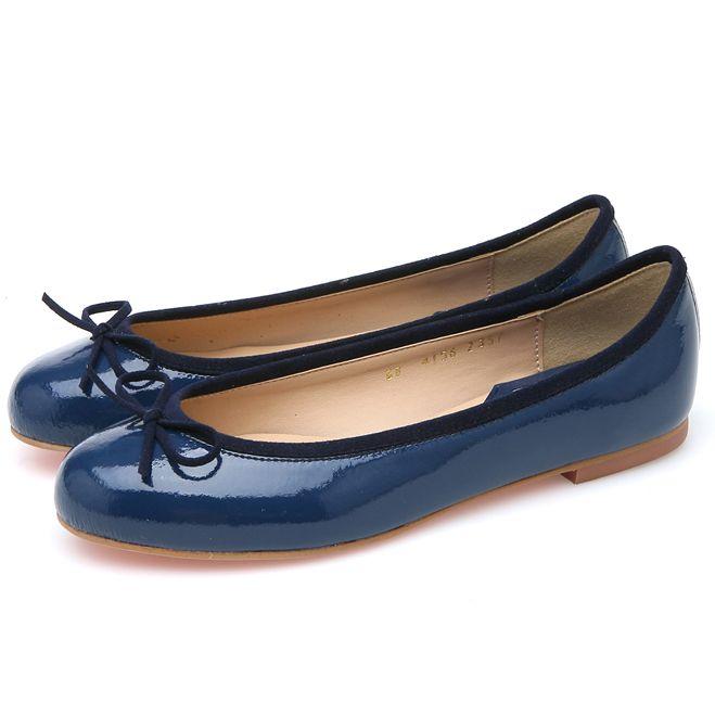 靴通販〜BABARA JAPANブランドの[BABARA] BB4156 BL/ フラットシューズ/ペタンコ
