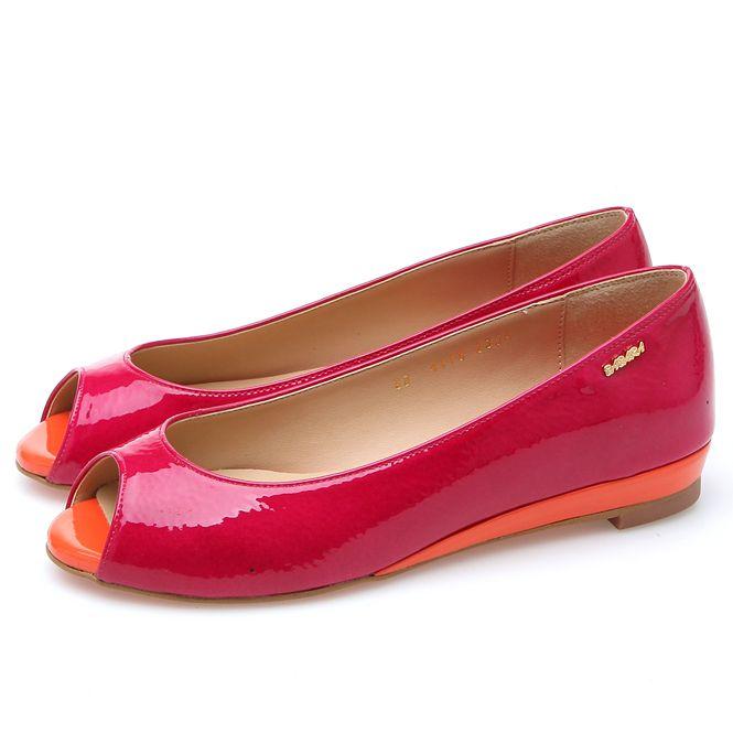 靴通販〜BABARA JAPANブランドの[BABARA] BB4118 PK/フラットシューズ/ペタンコ/オープントゥ/