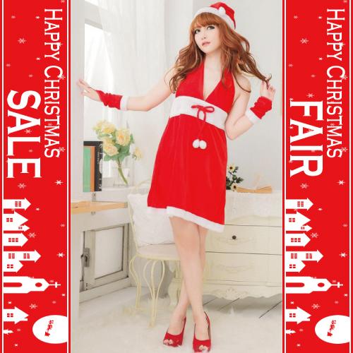 人気アイテム 通販〜Maria shopブランドの[20002]サンタ、コスプレ、クリスマス、レディース、セットアップ