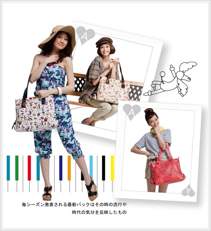 【新入荷ー3色展開FINEBAGS】流行最前線★収納たっぷりな可愛いショルダーバッグ