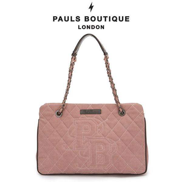 【PAUL'S BOUTIQUE】HOLLY クラシックキルティングチェーンバッグ