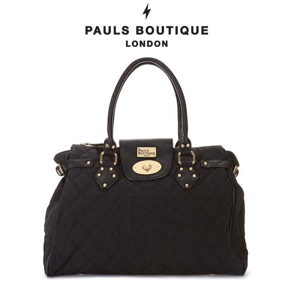 バッグ通販〜nowistyleブランドの【PAUL'S BOUTIQUE】TWISTER ロゴポイントキルティングバッグ