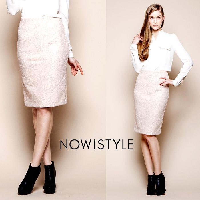 レースタイトスカート/タイト/春/セレブファッション