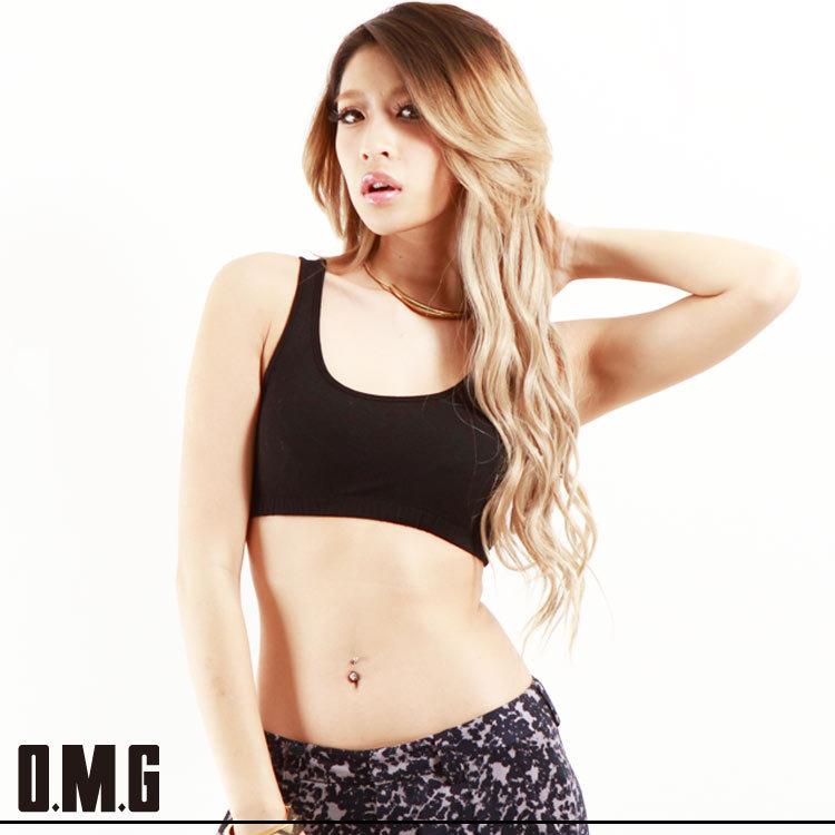 シャツ通販〜O.M.Gブランドの【RXS】O.M.G/オーエムジー【ageha 掲載商品】ブラトップ