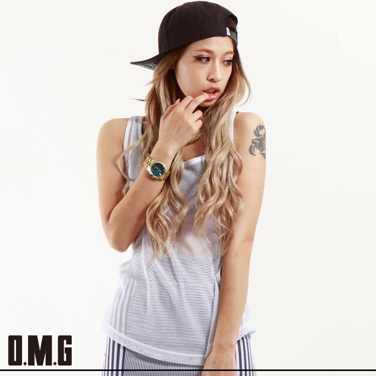 【RXS】O.M.G/オーエムジー【Scawaii 掲載商品】メッシュオーバータンク
