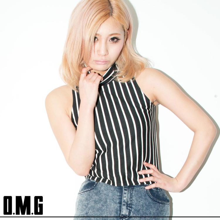 シャツ通販〜O.M.Gブランドの【RXS】O.M.G/オーエムジー【ageha9月号掲載商品】クルーネックトップス