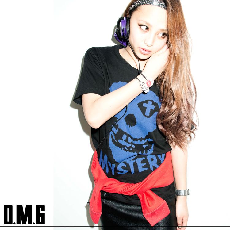 シャツ通販〜O.M.Gブランドの【RXS】O.M.G/オーエムジー【SOUL SISTER vo.13 掲載商品】MYSTERY Tシャツ