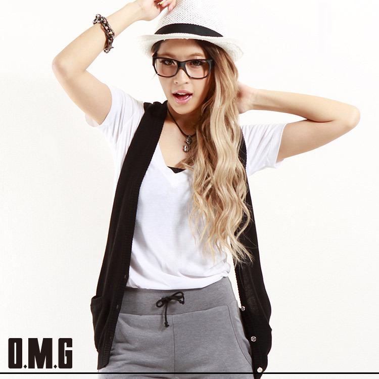 ニット通販〜O.M.Gブランドの【RXS】O.M.G/オーエムジー/シンプルニットジレ/春夏/カジュアル/マニッシュ