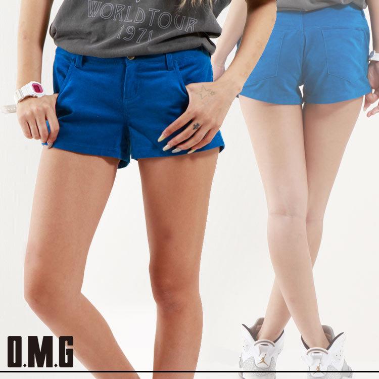 パンツ通販〜O.M.Gブランドの【RXS】O.M.G/オーエムジー/サマーコーディロイショートパンツ/春夏/シンプル/ベーシック/カジュアル