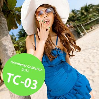 TC-03 SwimwearCollectionレディース水着/女性用水着/大きいサイズあり//体型カバー/タンキニ/セパレート/ワンピース