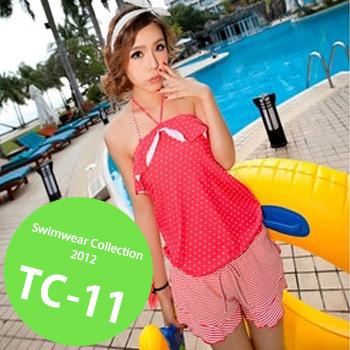TC-11 SwimwearCollectionレディース水着/女性用水着/大きいサイズあり//体型カバー/タンキニ/セパレート/ワンピース